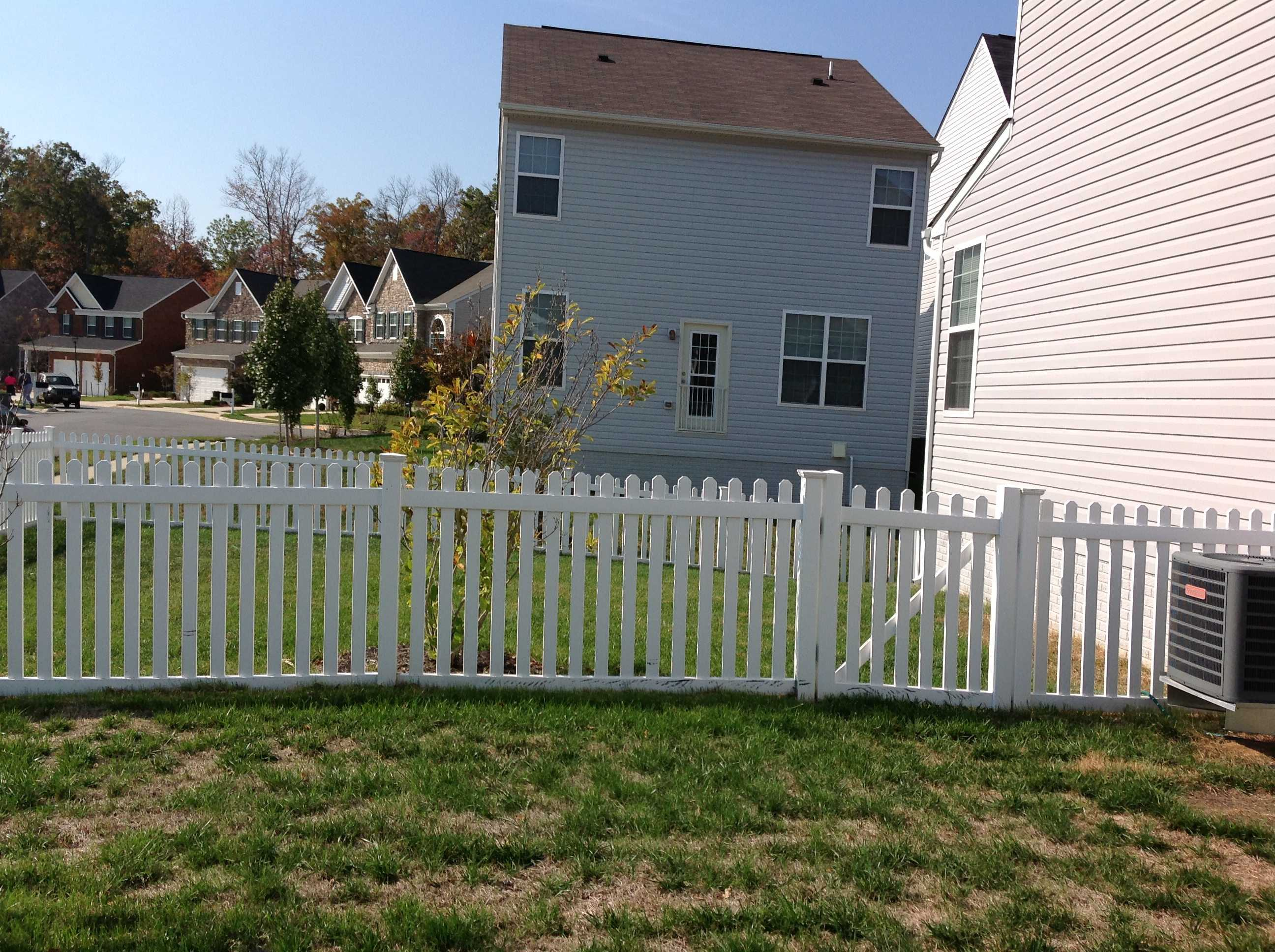 vinyl fence pany vinyl fence contractor pg county charles co