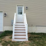 vinyl stairs installed in Southern MD