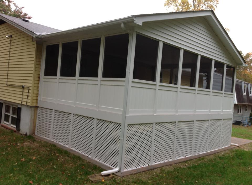 Screened In Decks : Screened decks and porches by clinton fence