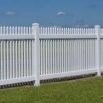 long picket fence in Prince Frederick MD