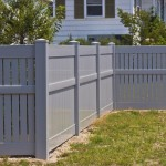 Vinyl Fence -Dorchester model gray near Brandywine
