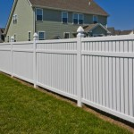 Vinyl Fence -Dorchester model multiple panels in Charles County MD