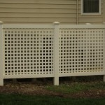 lattice fence from clinton fences in St. Mary's County MD