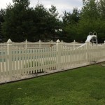 Wooden Pool Fences in Southern MD