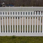 potomac white fence in Charles County MD.