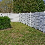 vinyl fence in Southern MD.