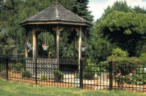 gazebo fence in Prince George's County