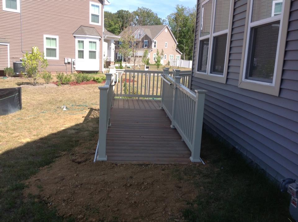 Handicrafts Area Deck Fences in Owings