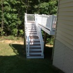 Vinyl Decking Stairs in North Beach