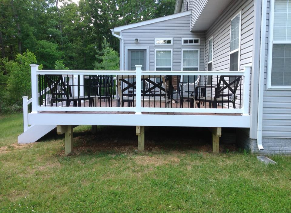 New Deck In Southern Md
