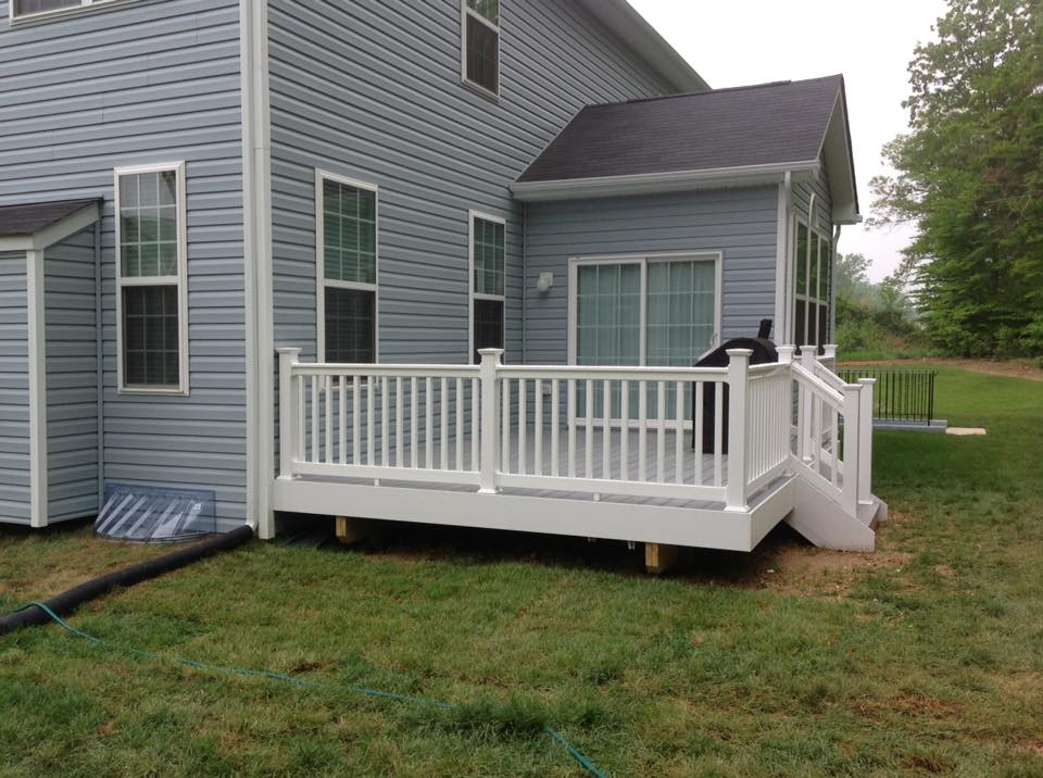 decks and porches from Clinton Fence available in Chesapeake Beach MD