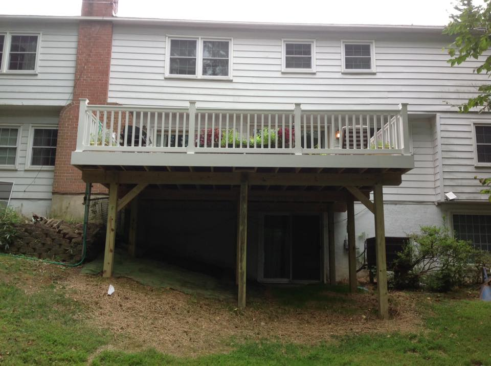 Call for a new deck today in St. Mary's County MD