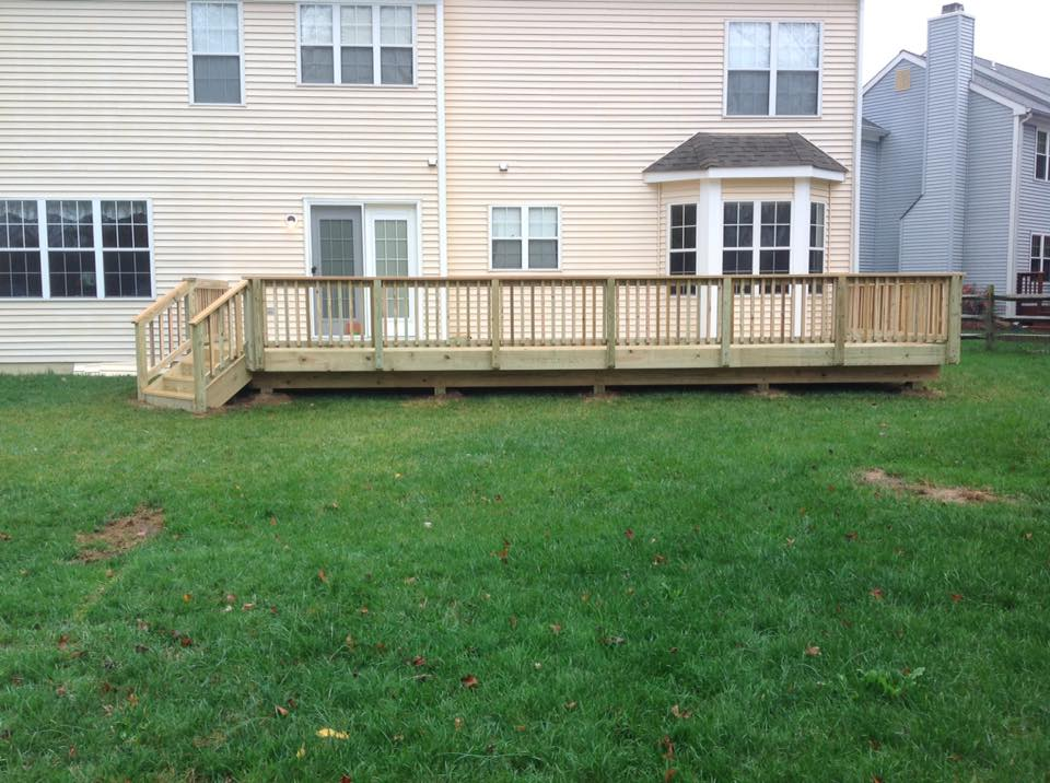 Clinton Fence Decking in Brownsville