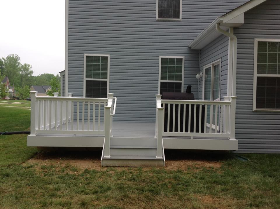 Porch And Deck Built In Southern Md