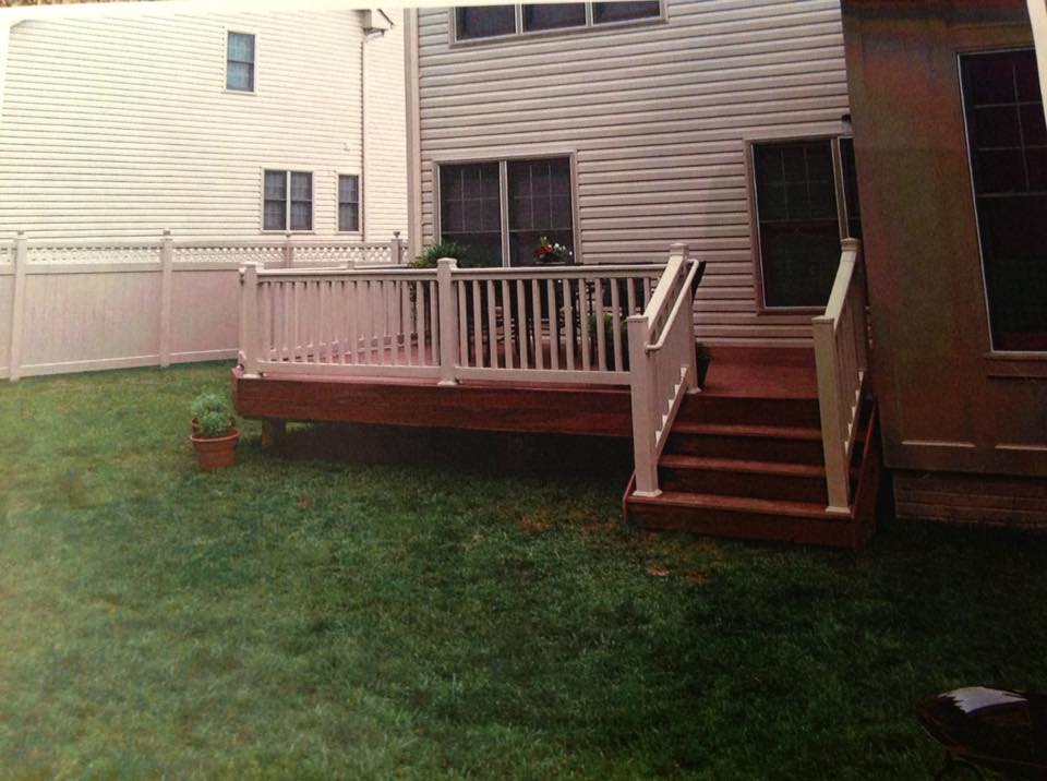 Front Porch And Deck Built In Charles County Md
