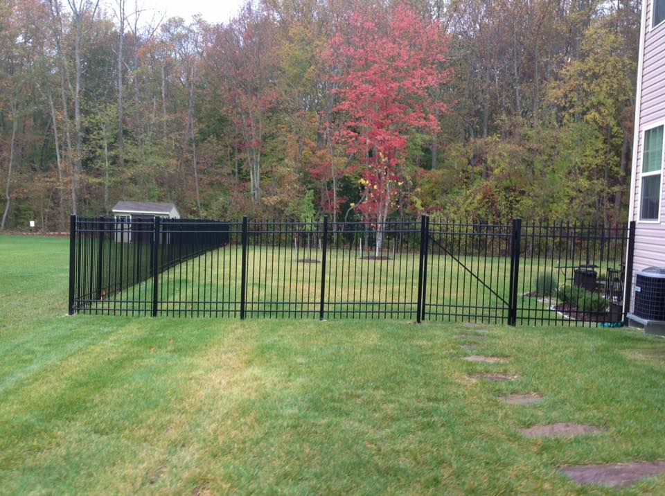 aluminum fencing close to Brandywine