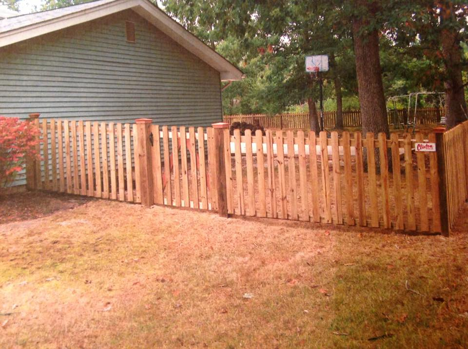Wood Fencing in MD