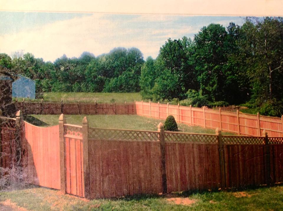 building a fence gate in Piney Point