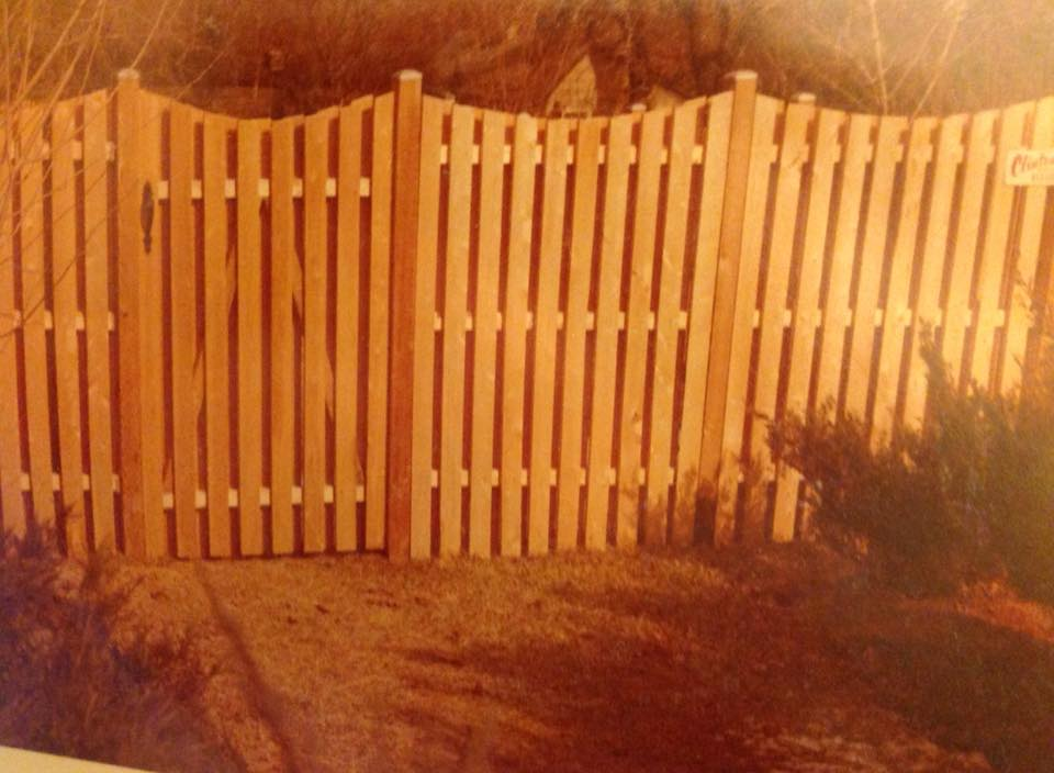 privacy fence gate near Montgomery County