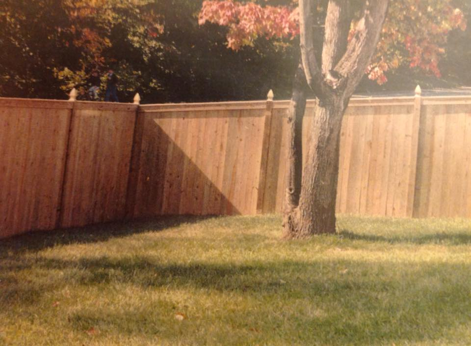 privacy fence gate in Anne Arundel County