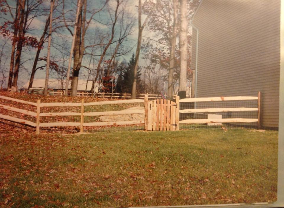 split rail fence in Tall Timbers