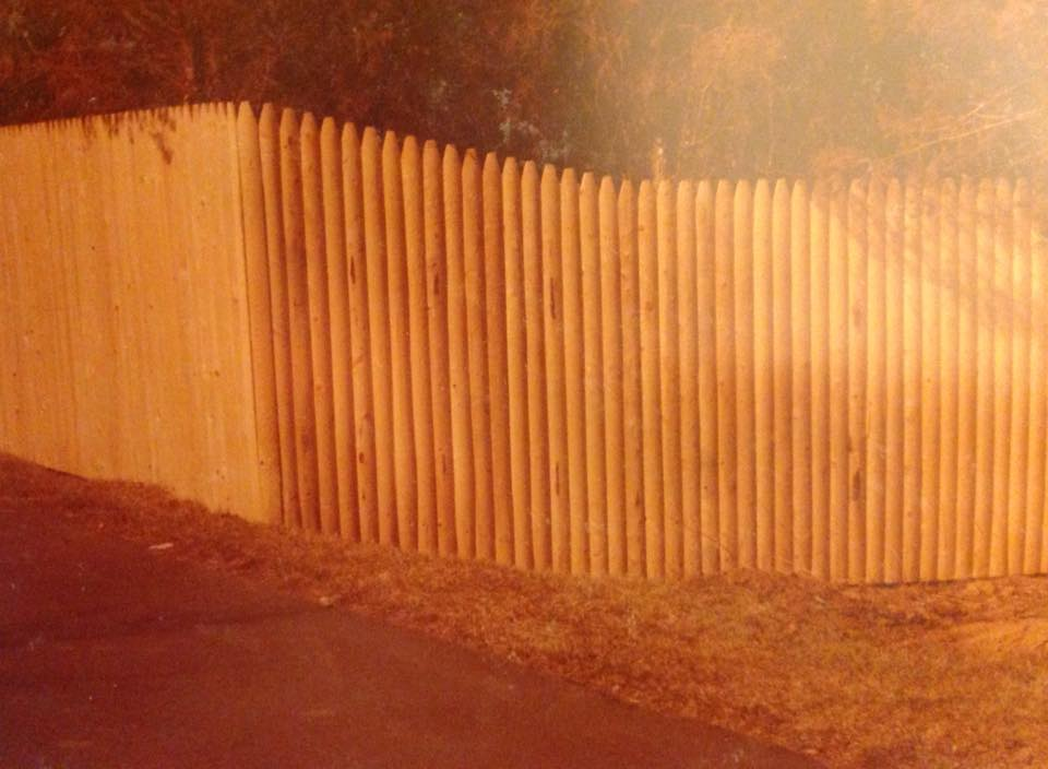 Privacy fence in Charles county md