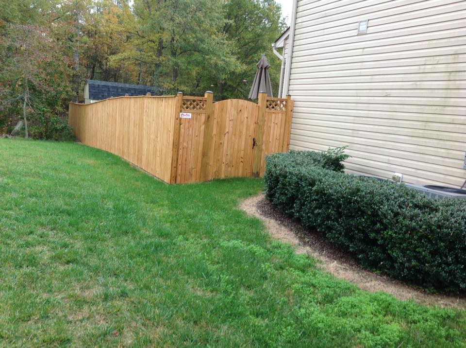 Perfect privacy fences in St. Mary's County.