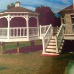 Gazebos available from Clinton Fence in Charles County MD