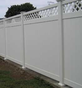 vinyl fence in Mechanicsville