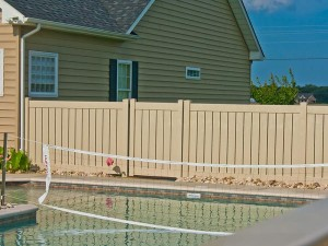 Vinyl Fence -Carroll model 5ft panel in California