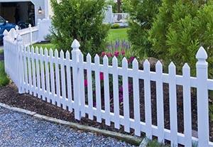 corbit white fence