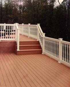 After Deck of Fences Southern MD