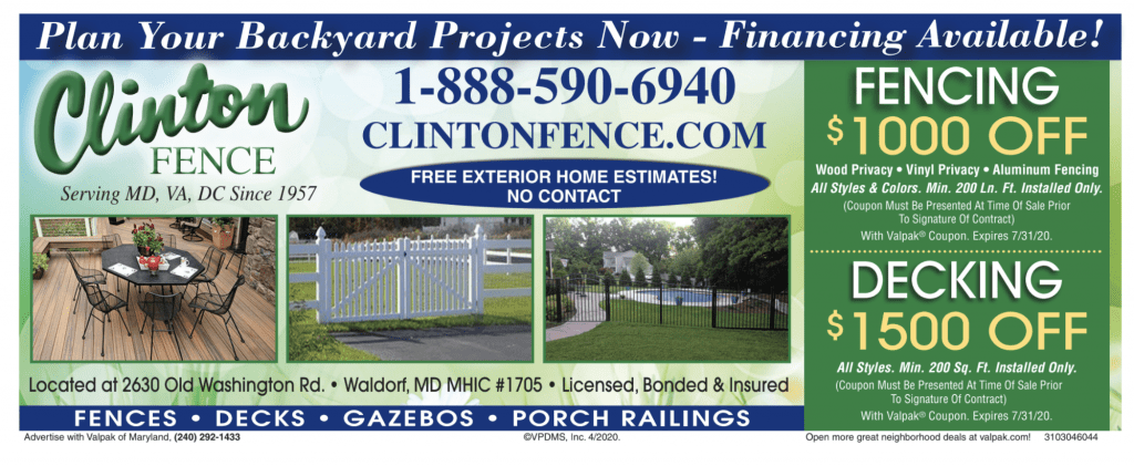 Fence and Deck Coupon